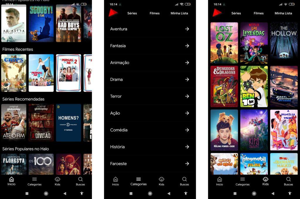 Halo! - Filmes e Séries v4.6 APK - Baixar para Android - Mundo Android