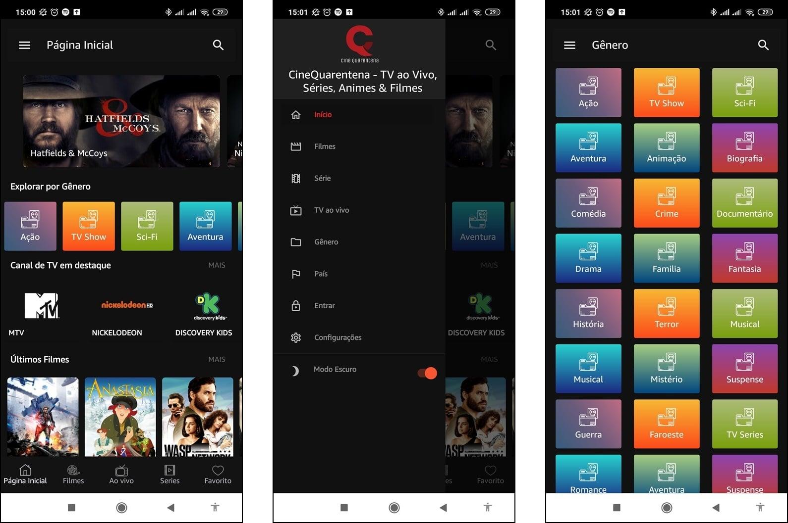 Cine Quarentena v1.2.8 APK - Baixar para Android - Mundo Android